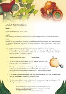 The Last Bargain 3 - Activities