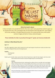 The Last Bargain - Activities
