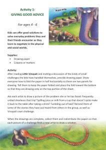 Little Vinayak - Activities2
